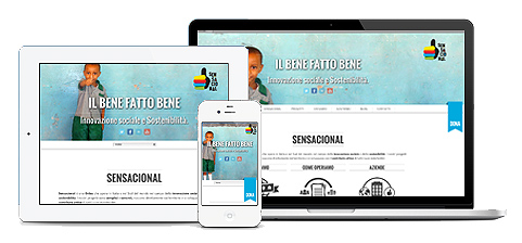 Sensacional Onlus Website
